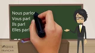 Урок французского языка 20 с нуля для начинающих: глаголы 1-й группы (часть 2)