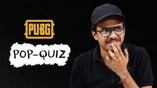 8Bit Thug takes the PUBG Mobile Pop Quiz