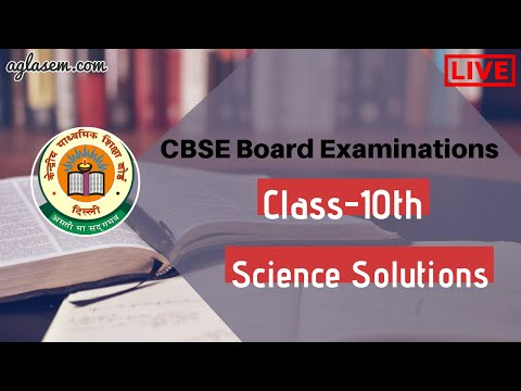 CBSE Board Exam 2020 | Class 10th Science | Live Question Paper Solutions