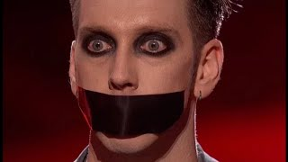 Tape Face - GREATEST SILLY MIME | All Performances | America's Got Talent 2016 | Finalist