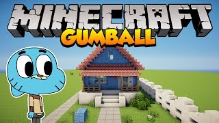 Minecraft: Como construir a casa do Gumball (The Amazing World of Gumball)