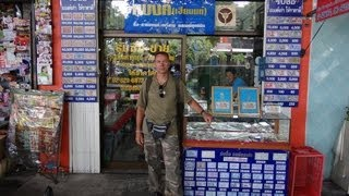 Thailand, Bangkok, BANKNOTE - COLLECTOR on Tour !