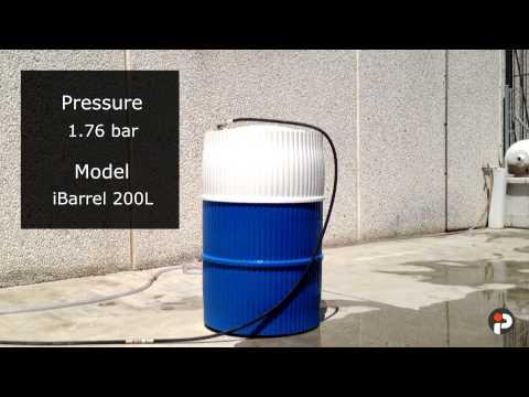 iBarrel - Pressure Stress Test - 2,1 bar