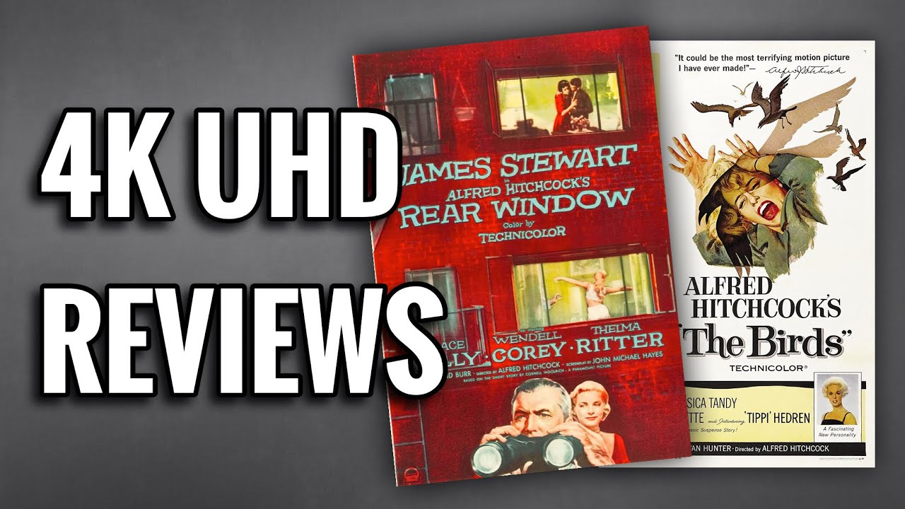 Download THE BIRDS / REAR WINDOW 4K ULTRAHD BLU-RAY REVIEW | HITCHCOCK CLASSICS COLLECTION
