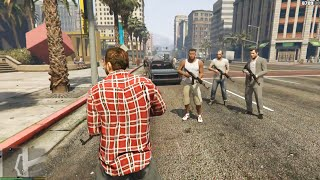 GTA 5   GANG  RAGE ON SCPD  ULTRA SET 2160P PC GAMEPLAY