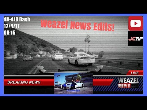 How I Make Weazel News Reports in Justice Community Roleplay! - GTA 5 FiveM JCRP