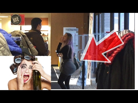 Why do you wear so much make up??? /prank (security called)/ HD1080p