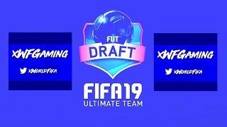 FAILED FUT DRAFT - HUGE DONATION!! - FUT DRAFT TO GLORY #1 (FIFA 19) (LIVE STREAM)