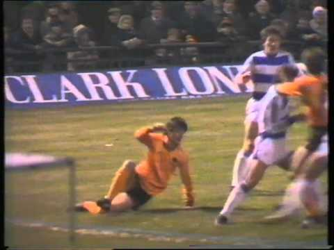 Wolves v Queens Park Rangers, 18th December 1982