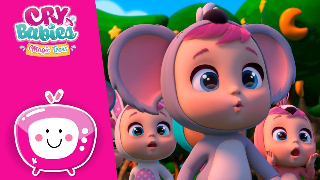 Aventuras de caravana 🐨🚍 CRY BABIES 💦 MAGIC TEARS 💕 NOVO Episódio 🌈 Desenhos para crianças