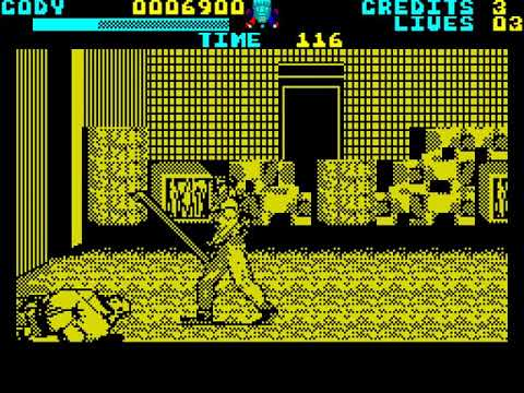 ZX Spectrum: Final Fight (1991 US Gold) - 동영상