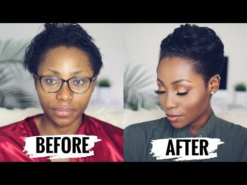 HOW TO STYLE SHORT RELAXED HAIR FOR BLACK WOMEN