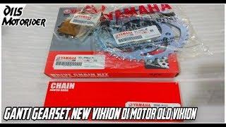 harga gear set new vixion ori videos, harga gear set new