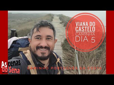 Caminho da Costa Português / Viana do Castelo a Caminha