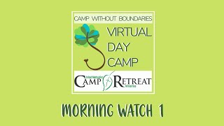 Morning Watch with leaders from Holston Conference Camps!