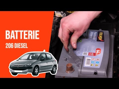 tuto peugeot 206 2 0 hdi changer la batterie youtube. Black Bedroom Furniture Sets. Home Design Ideas