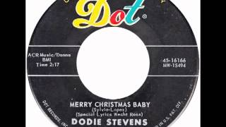 "Dodie Stevens – ""Merry Christmas Baby"" (Dot) 1960"