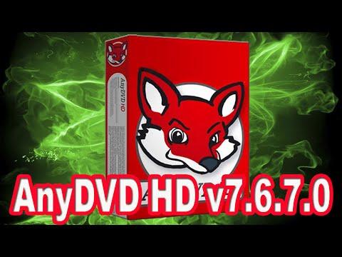 Descargar e instalar AnyDVD HD v7.6.7.0
