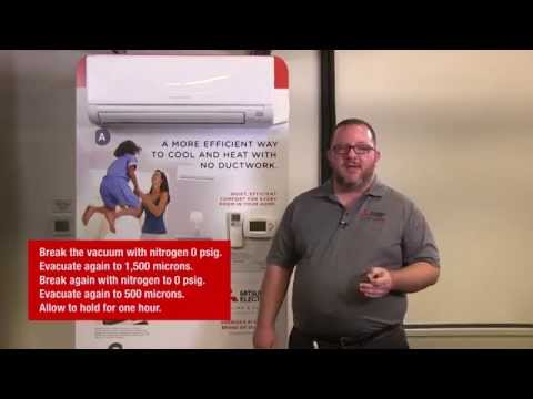How to Install a MSZ/MUZ-GE09NA Heat Pump | Mitsubishi Electric Cooling & Heating