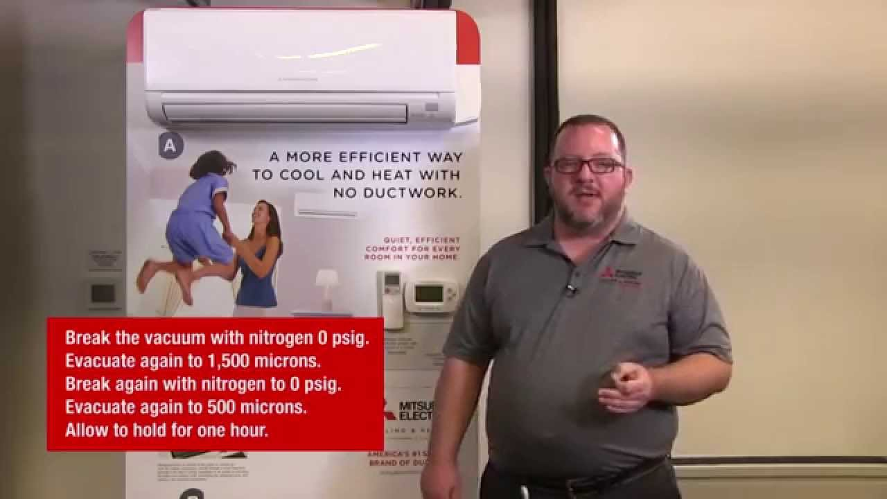 how to install a msz/muz-ge09na heat pump | mitsubishi electric cooling &  heating - youtube