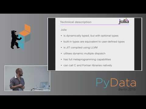 David Higgins - Introduction to Julia for Python Developers