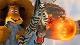 DreamWorks Madagascar   Airplane Crash - Movie Clip   Madagascar: Escape 2 Africa   Kids Movies
