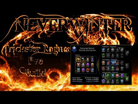 Neverwinter - Lvl 70 Trickster Rogue MI Exec/Scoundrel PVE Build Update