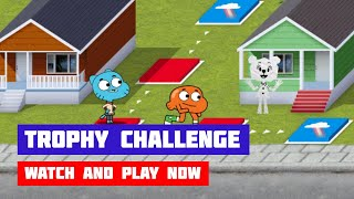 The Amazing World of Gumball: Trophy Challenge · Game · Gameplay