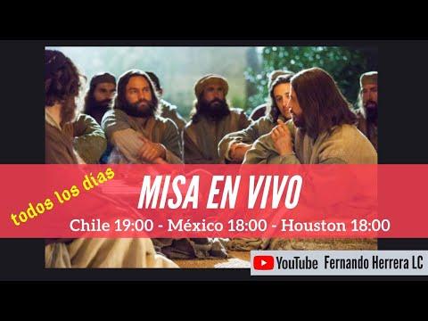 Misa en vivo sábado 25 de julio - Santiago Apóstol