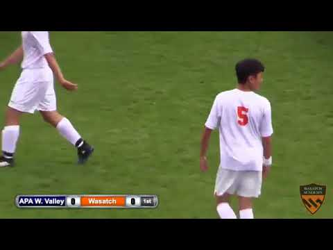 Boys Soccer  APA West Valley vs  Wasatch Academy