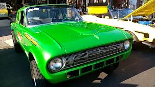 1961 METALLIC LIME TIME GREEN FORD FALCON GASSER RACECAR 'JACKPOT'