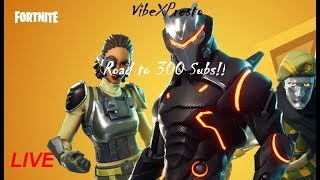 Fortnite Battle Royale | Road to 300!!| Good Player| PSN GIVEAWAY SATURDAY