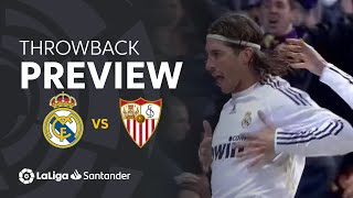 Throwback Preview: Real Madrid vs Sevilla FC (3-2)