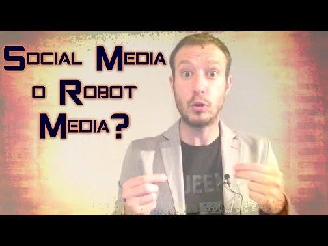 Los Bots de Facebook ¿Social Media o Robot Media?