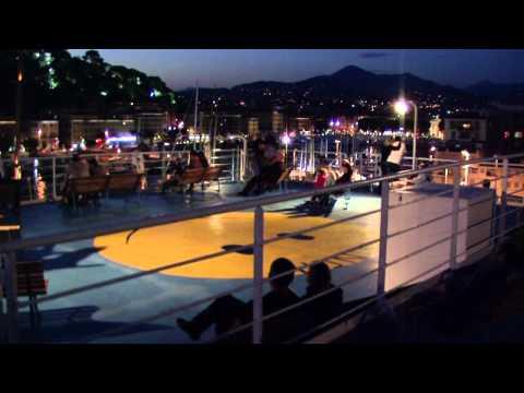 Unsere Corsica-Tour 2012; Teil 1 Überfahrt Nizza - Bastia