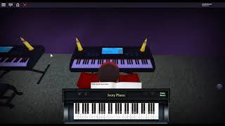Pink Panther Theme - Pink Panther by: Henry Mancini on a ROBLOX piano.