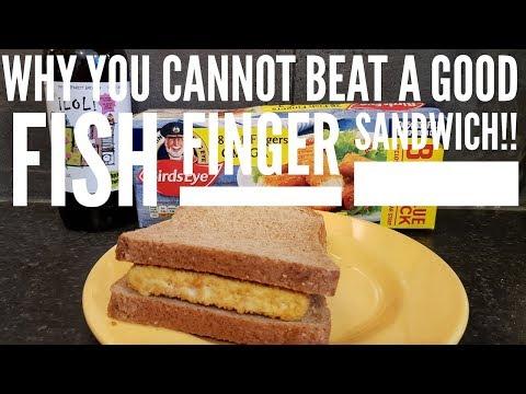 Birds Eye Fish Finger Sandwich With Bragdy Twt Lol Lol Pale Ale