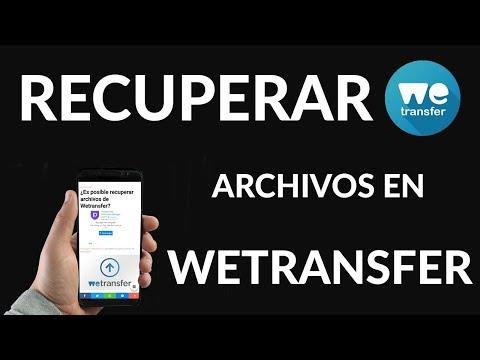 Recuperar Archivos de Wetransfer ¿Se puede?