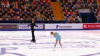 Александра Бойкова Дмитрий Козловский Короткая программа Гран при по фигурному катанию 2020 21