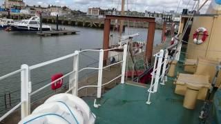 2016.03.30 Aboard trawler 'Mincarlo' in Lowestoft harbour, Suffolk, England - 02