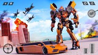Real Limo Robot Car Transformation Games 2021 crushiz screenshot 1