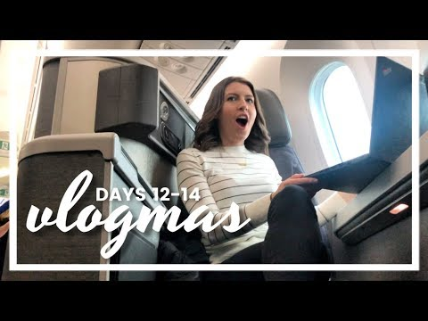 First Class - Life in Private Equity ❆ Vlogmas Days 13-14, 2018