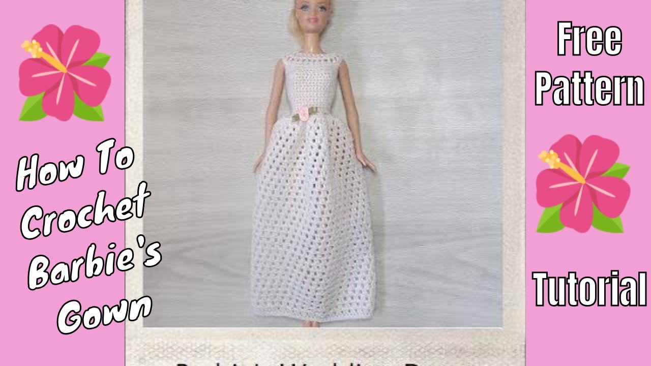 Barbie Clothes Wedding Gown Youtube