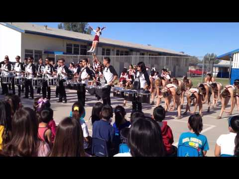 RAW VIDEO: Calexico Bulldogs help Dool Elementary School students gear up for CSTs
