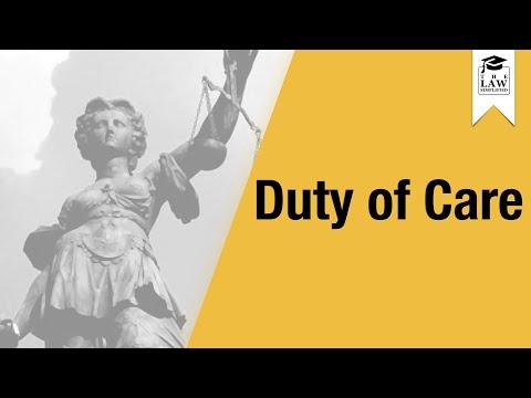 negligence---duty-of-care