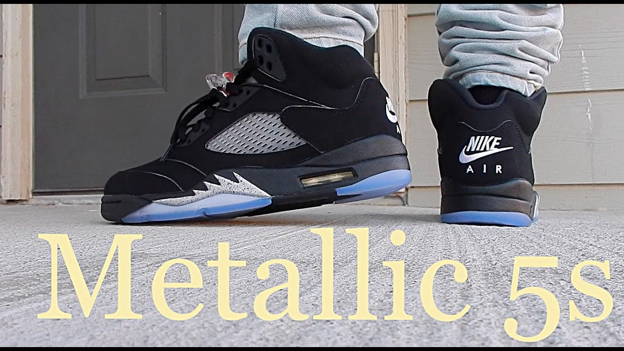 best sneakers a5085 38f0f coupon code for air jordan 5 black metallic silver celebrity ...