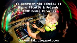 Mauro Picotto & Friends - The Retrospective (BXR/ZYX Media Records) mixed by Traxmaniak