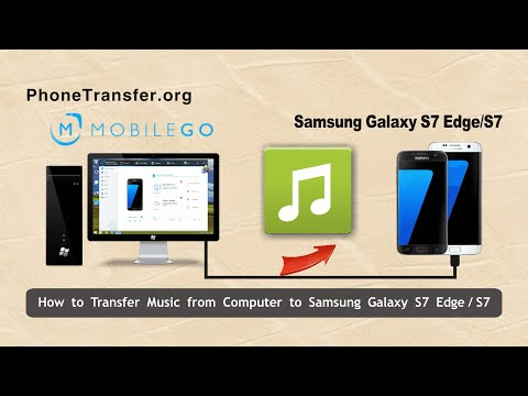 How to Transfer Music from Computer to Samsung Galaxy S7 Edge, Import Songs to Galaxy S7