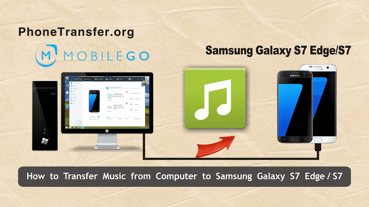how to sync music from computer to iphone how to transfer from computer to samsung galaxy s7 21032