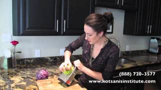 How To Make Red Cabbage & Green Apple Sesame Salad